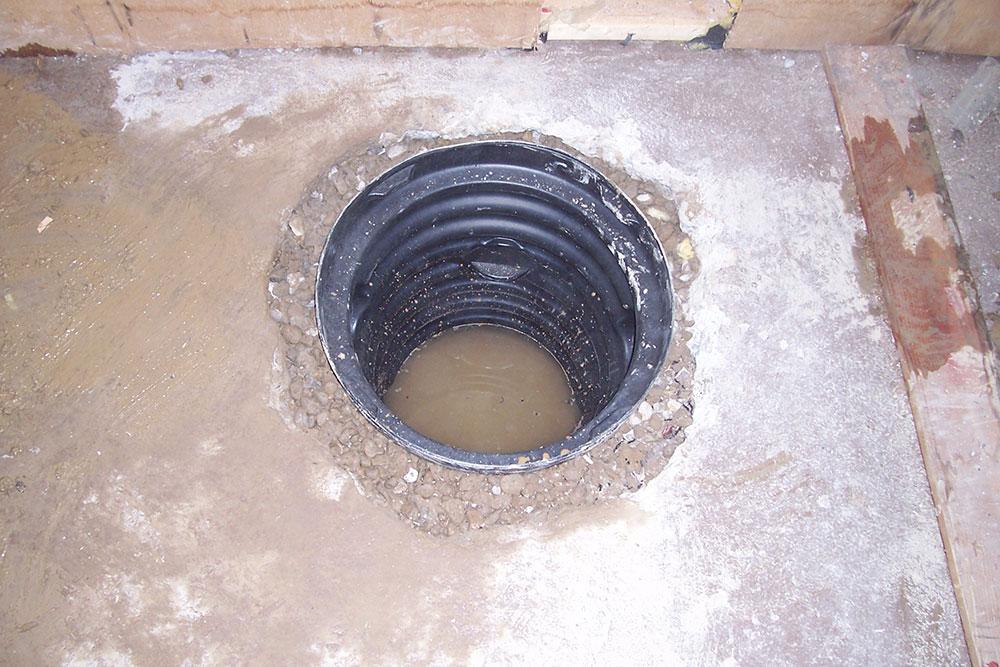 Sump Pump Drainage System Foundation Drain W Sump Pump Mov