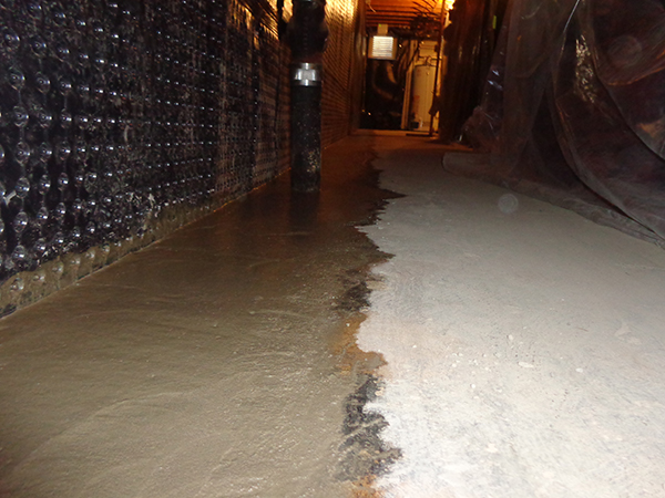 Interior Water Control And Drainage System Basement